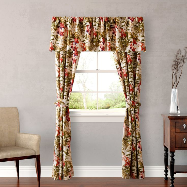 Daintree Tropic Rod Pocket Curtain Panel by Tommy Bahama