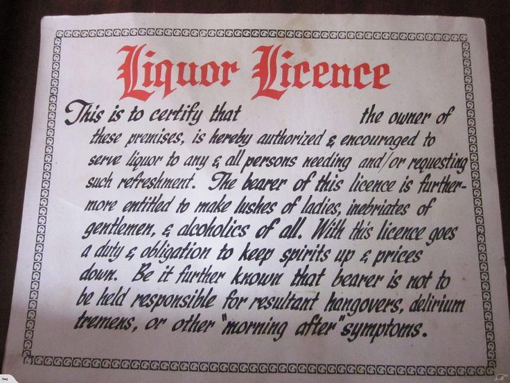 Liquor licence sign trade me liquor liquor license
