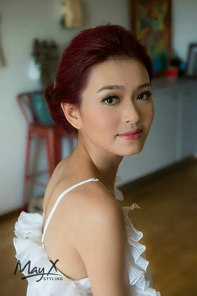 Hair and makeup by May Xue (Mayxstyling)