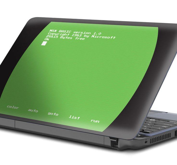 Laptop sticker MSX Basic scherm  Een laptop skin die het programma Basic op de MSX weergeeft. Gave laptopsticker om uw laptop een originele tech look te geven. Voor de programmeurs en de tech fanaten die niet op zoek zijn naar een cliché technologie ontwerp maar iets wat gevoelens opwekt. Heeft u vroeger ook dagen zitten worstelen met dit programma? Geef uw laptop decoratie van nostalgie een persoonlijke laptop accessoires. Ook verkrijgbaar in de afmetingen van úw laptop.  EUR 11.99  Meer…