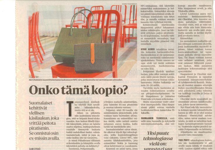 Helsingin Sanomat | Aki Choklat | Fincode