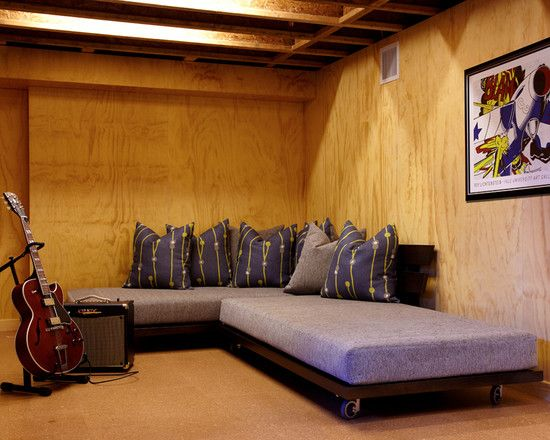 unfinished basement ideas design pictures remodel decor and ideas page 7 - Unfinished Basement Design