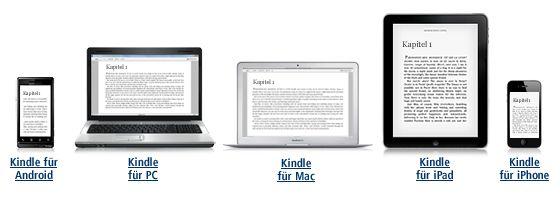Gratis Kindle Lese-Apps