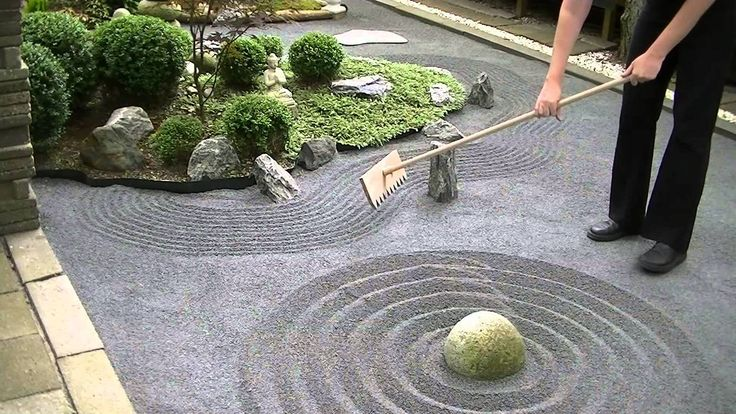 DIY Japanese Zen Rock Garden