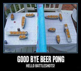 Cool idea for drinking game