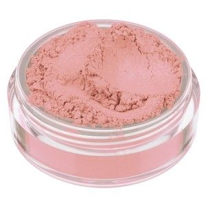 MAYA blush. Peach pink with a deep pink satin finish.  #nevecosmetics #blush #crueltyfree #makeup #cosmetics #love #animals #peach #pink