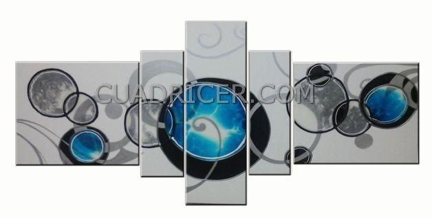 constelación atómica azul 2336 cuadro moderno abstracto tono combinado con blanco y negro con formas geometrcicas criculares, aporta serenidad y relajación, ideal para la decoración de tu casa,#abstracto,#barniz,#cristal,#modular,#moderno,#decoracion