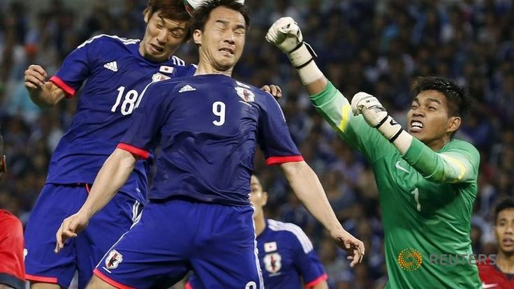 Japan held to frustrating draw by resolute Singapore - Channel NewsAsia
