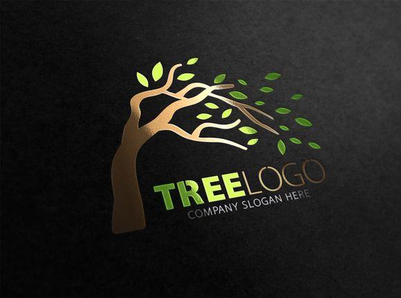 Tree Logo by Creative Dezing on @creativemarket