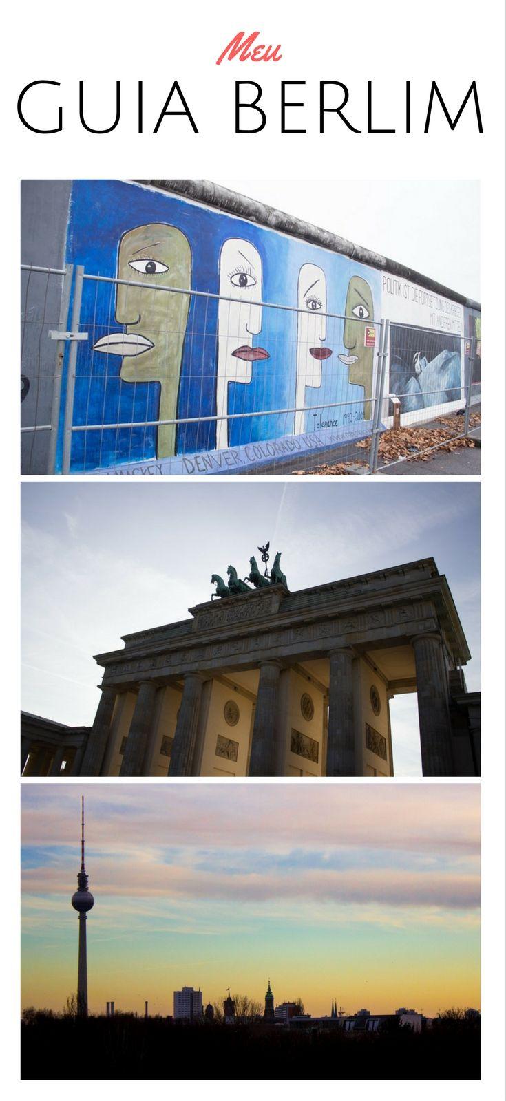 Meu guia da cidade de Berlim para você! Tudo o que fiz e um pouco mais!