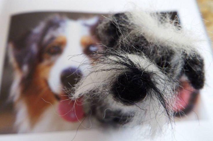 #Needle Felting; #Miniature Schnauzers; #dogs; #craft; #animals