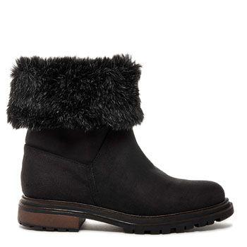 Lane Adams-Murrow Faux Fur Ankle Boot