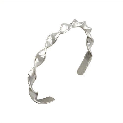 Sterling Silver Twisted Cuff Avend Concepts. $54.95
