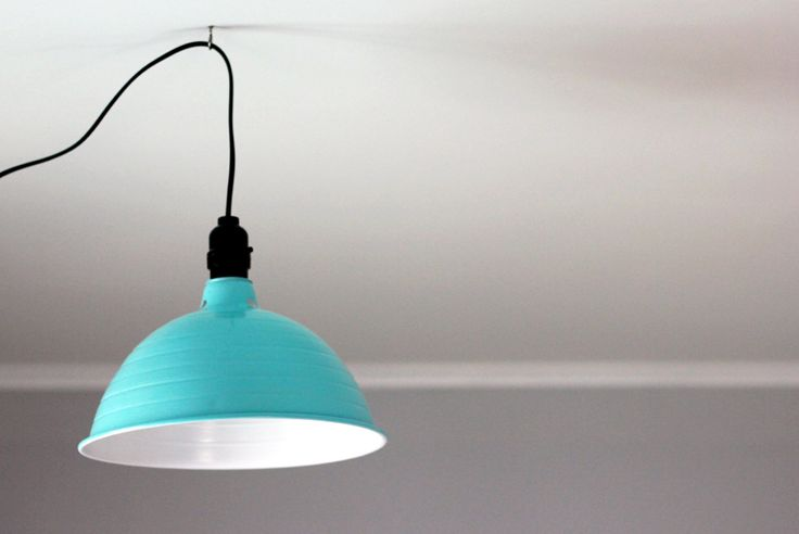 DIY Industrial Light // The Merrythought