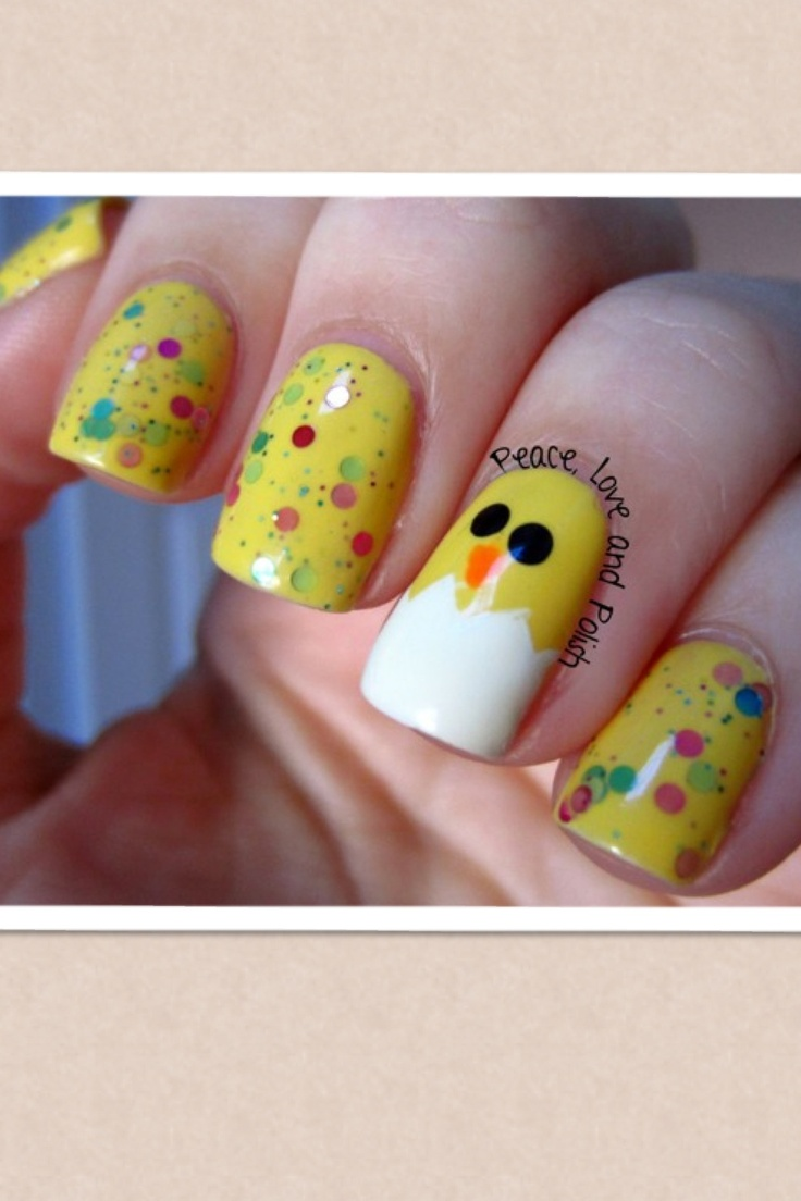 200 best easter nail art images on pinterest easter nail art