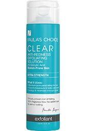 Review Clear Extra Strength Anti-Redness Exfoliating Solution 2% Salicylic Acid