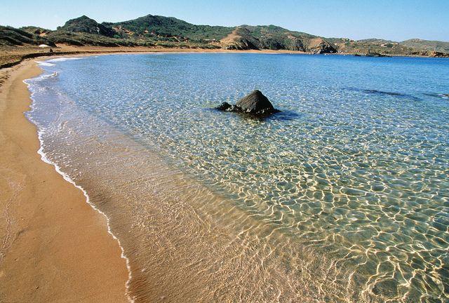 Playa de Cavalleria, Menorca - BALEARIC ISLANDS (SPAIN)