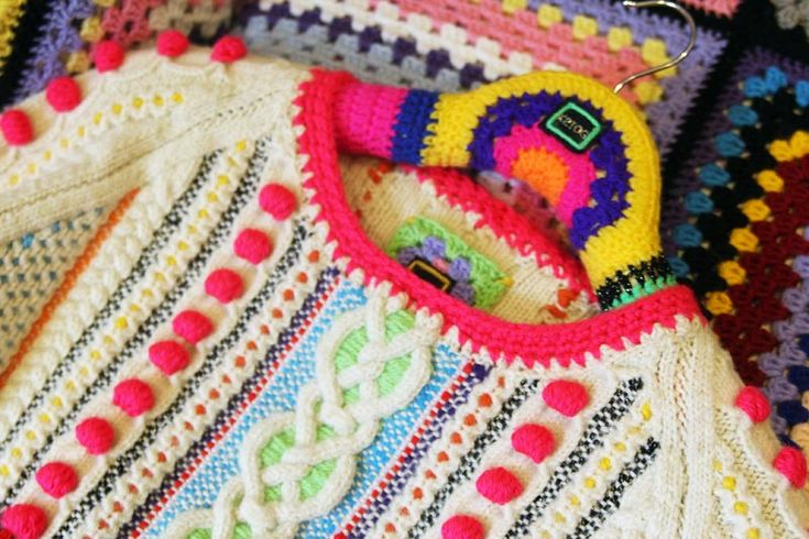 K2TOG - gives new life to aran jumpers