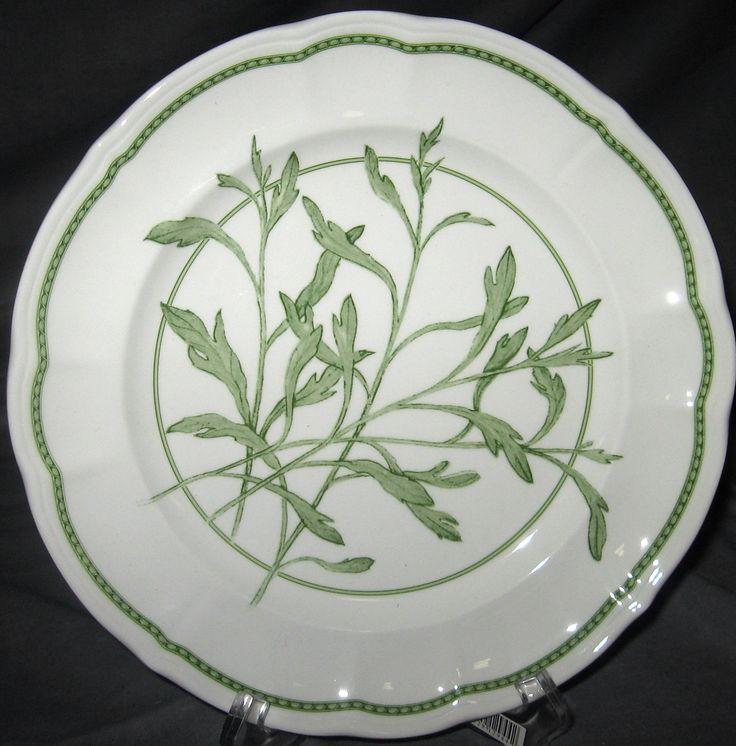 | Richard Ginori China patterns | Richard Ginori Tarragon Salad Plate | eBay