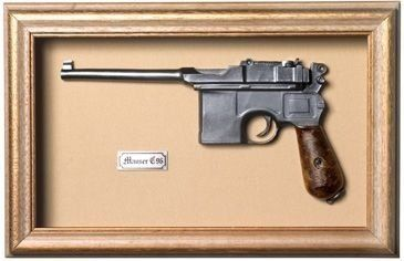 Quadro Pistola Mauser C-96 - Artigos Militares, Camping, Paintball e Airsoft - Tática Militar