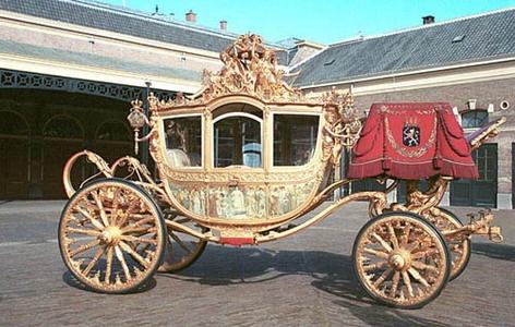 Dutch royal-carriage