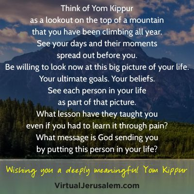 15 Inspiring Quotes for a Meaningful Yom Kippur