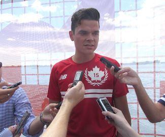 Thornhill's Raonic plays for Team Canada on NBA hardcourt