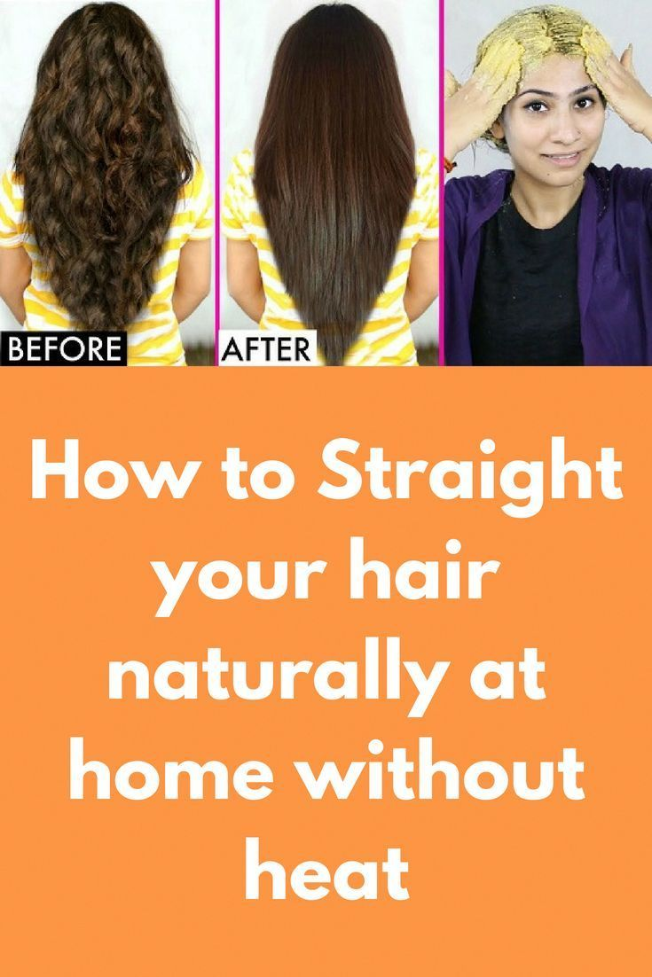 How To Straight Your Hair Naturally At Home Without Heat Today I Am Telling You Natural Hair Styles Lighten Hair Naturally How To Lighten Hair