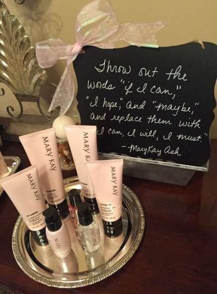 New Makeup Party Setup Mary Kay Ideas #makeup