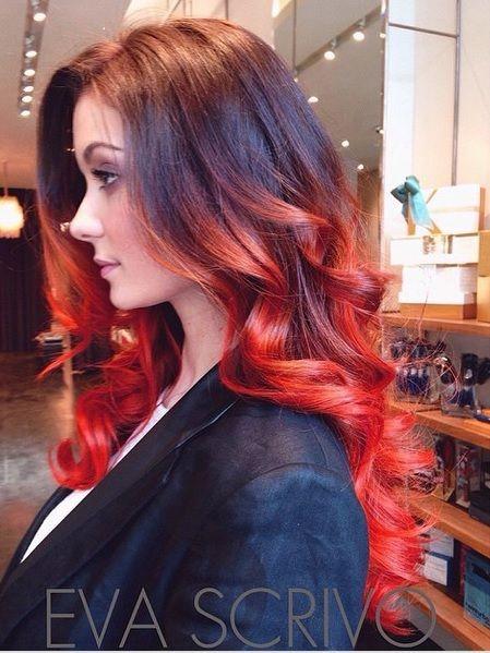 11 lang haar kapsels geverfd in ongelofelijk mooie kleuren! - Kapsels voor haar