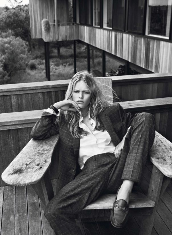 Anna Ewers by Josh Olins for Vogue Paris October 2013 5