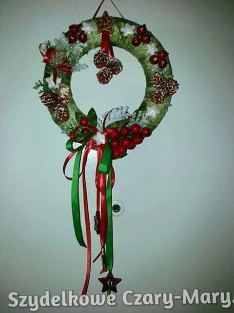 Boze Narodzenie # wianek # swieta # ozdoby