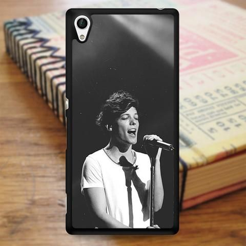 Louis Tomlinson Boyband Singer One Direction Louis Sony Experia Z4 Case