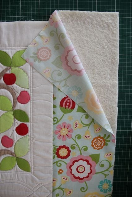 Quilt As You Go. Adding Borders