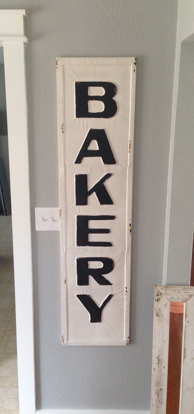 Best 25 Bakery Sign Ideas On Pinterest Pantry Sign