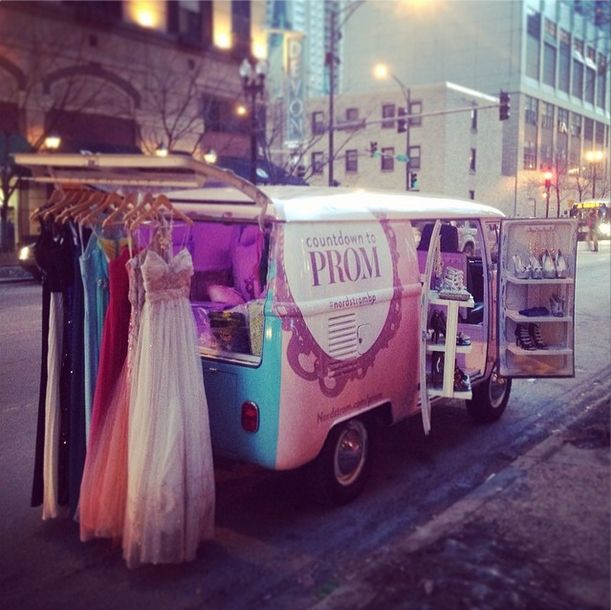 Nordstrom Prom Truck