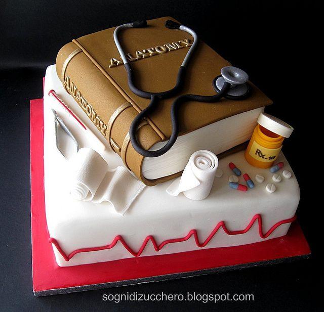 Nurse Cake by Sogni di Zucchero, via Flickr