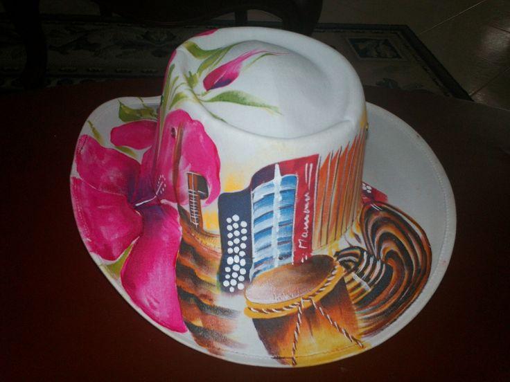 sombrero pintado (colombia)