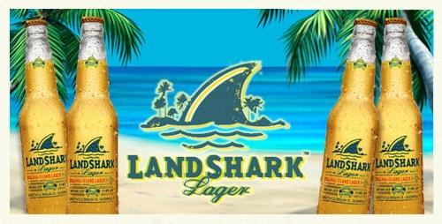 Landshark Lager Beer