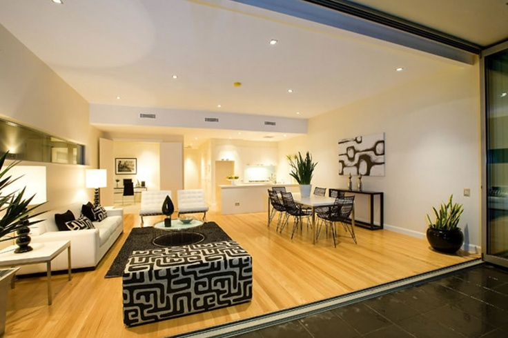 This Blackbutt Flooring provides a warm and neutral canvas.