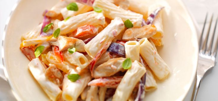 Philadelphia Recipe - Sweet Chilli Philly with Roasted Pepper Pasta