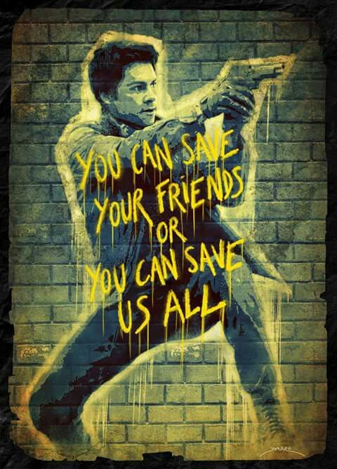 You Can Save Your Friends or You Can Save Us All #Thomas #DylanO'Brien