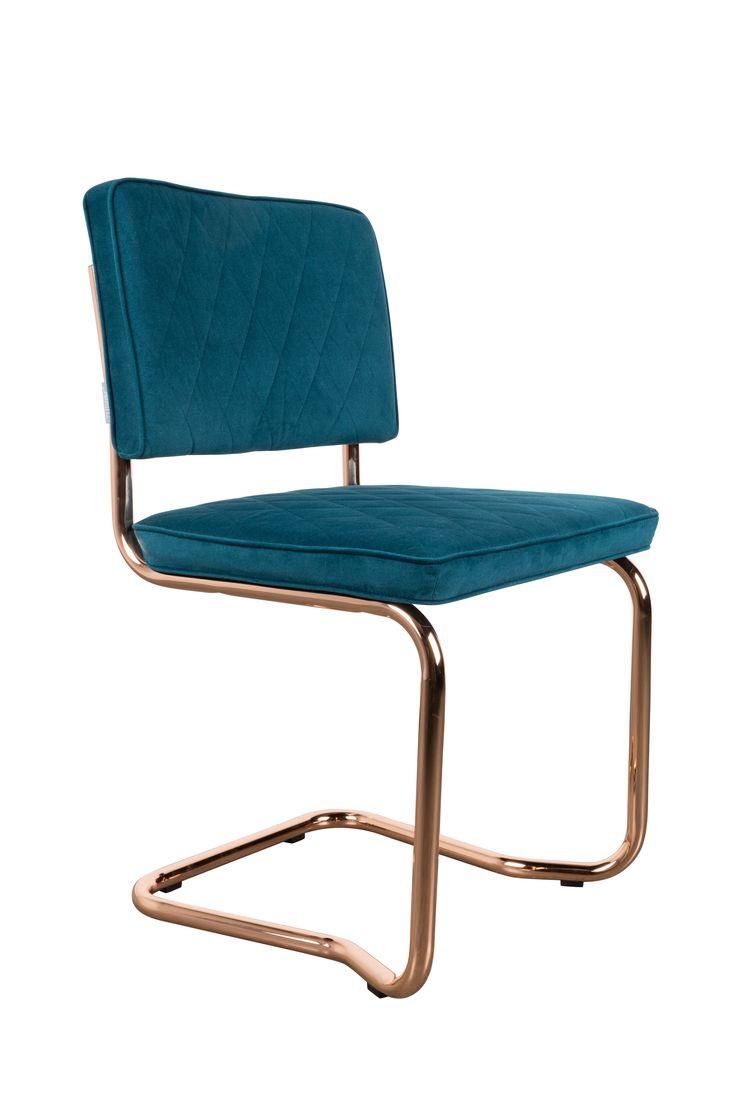Diamond kink chair Emerald green