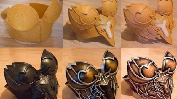 How to make armor and other cosplay tutorials...