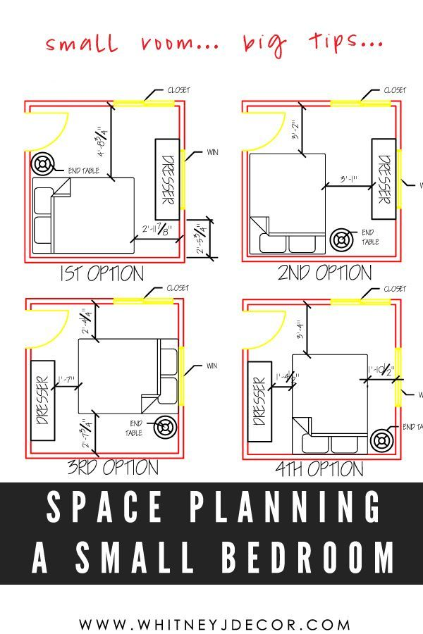 Space Planning Tips And Tricks For A Small Space Bedrooms Read These Tips Before You Start Your In 2020 Small Bedroom Small Room Layouts Bedroom Decor For Small Rooms