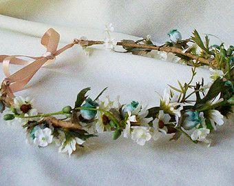 Hochzeitssuite Malibu Blume Krone Ziel Hochzeit von AmoreBride