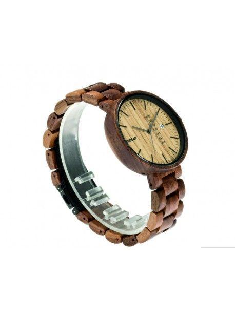 Damenuhr auf der Hand - LONDON Artikel-Nr.:  DH00010 -WALUNT WOOD** REDEAR Zustand:  Neuer Artikel  Verfügbarkeit:  Auf Lager  Elegante hölzerne Uhr mit einem einzigartigen Design. Geschenk fit für einen Mann und eine Frau. Uhren sind aus natürlichen Materialien, ohne künstliche Farbstoffe