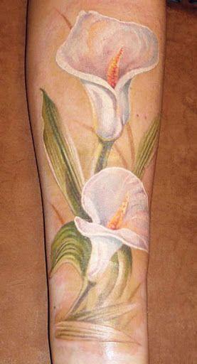 Realism Flowers Tattoo by Alexander Pashkov?