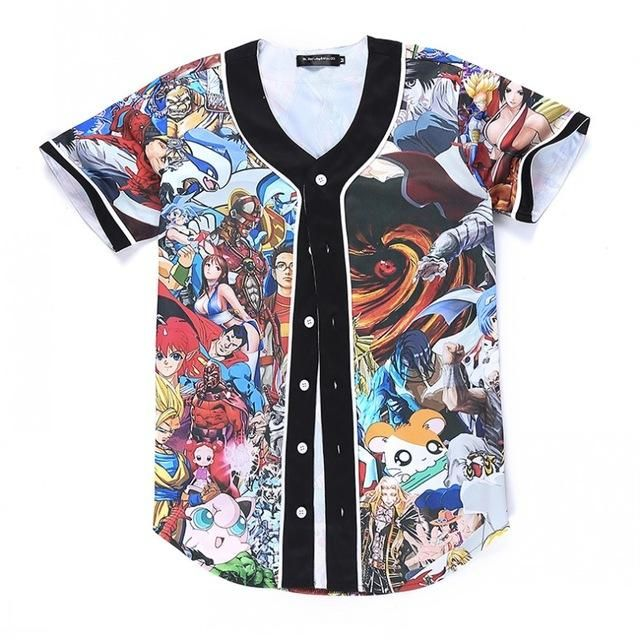SuperHero Baseball Jersey | Tops & Tees | Baseball shirts
