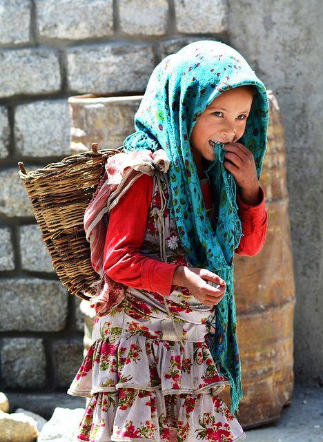 A Himalayan Girl  Turtuk Village , Ladakh, Jammu And -4939